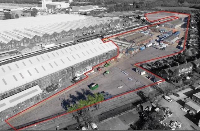Thumbnail Land to let in 320, Eastleigh Works, Campbell Road, Eastleigh