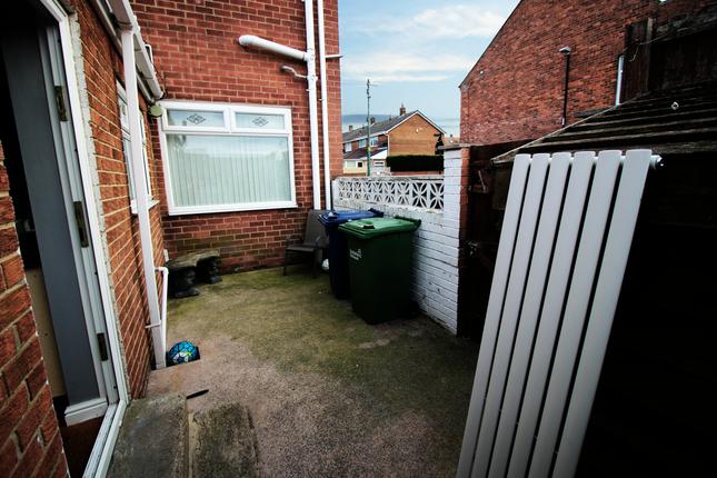 Rear Yard of Elemore Lane, Easington Lane Village, Hetton Parish, City Of Sunderland, Tyne And Wear DH5