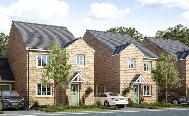 Thumbnail Link-detached house for sale in Plot 1, Manor Mews, Calverley Lane, Leeds, West Yorkshire