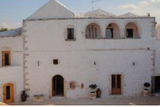 External of Masseria Gianfranco, Ceglie Messapica, Puglia, Italy