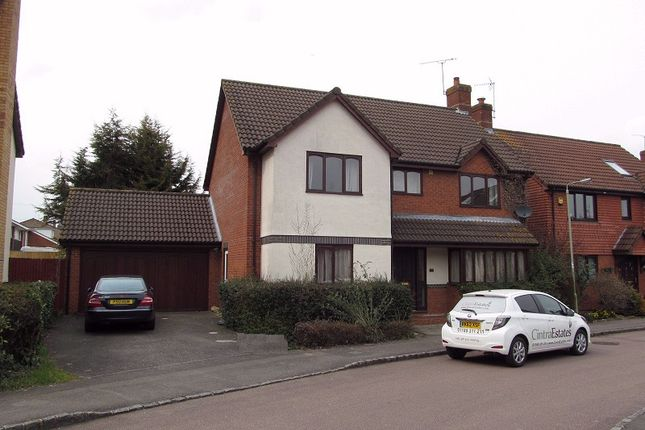 Thumbnail Detached house to rent in Woodward Close, Reading