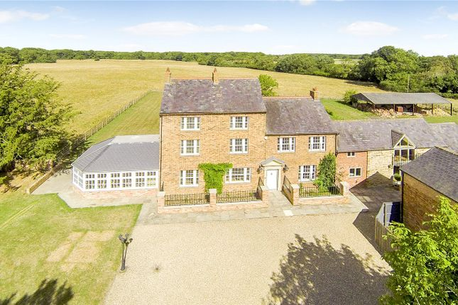 Thumbnail Detached house for sale in Hardwick, Wellingborough, Northamptonshire
