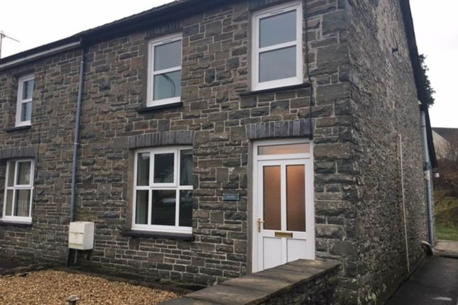 Thumbnail Semi-detached house to rent in Awelfor, Cwmann, Lampeter