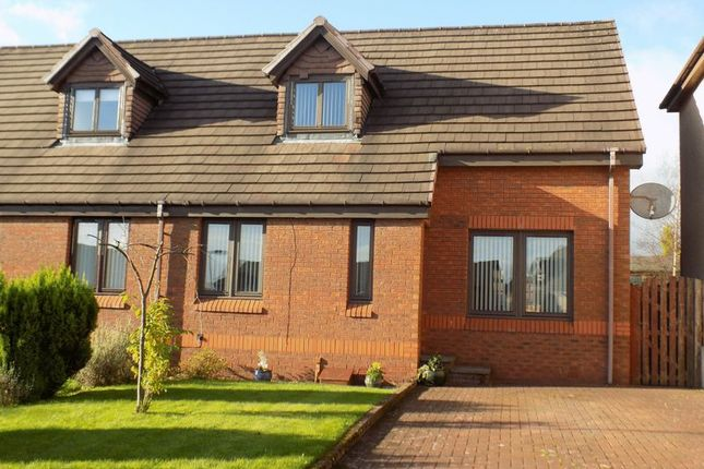 Thumbnail Semi-detached house for sale in Grantown Avenue, Petersburn, Airdrie