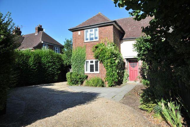 Thumbnail Semi-detached house to rent in Westwood Park Road, Peterborough, Peterborough