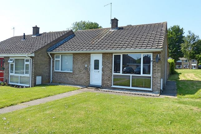 Thumbnail Semi-detached bungalow to rent in Wykes Road, Yaxley, Peterborough