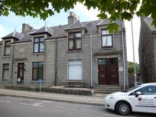Thumbnail Flat to rent in Leslie Terrace, Aberdeen
