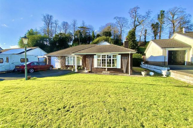 Thumbnail Detached bungalow for sale in Glanarberth, Llechryd, Cardigan, Ceredigion