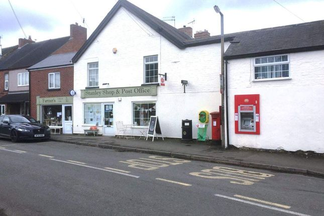 Thumbnail Retail premises for sale in Station Road, Stanley, Ilkeston