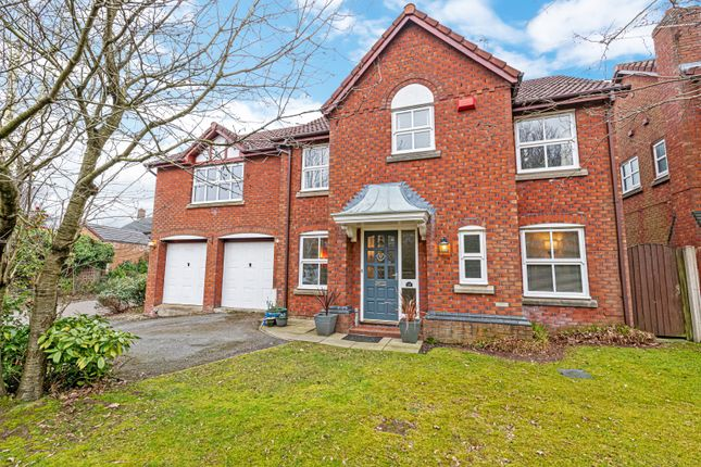 Thumbnail Detached house for sale in Kingsbury Close, Appleton, Warrington, Cheshire