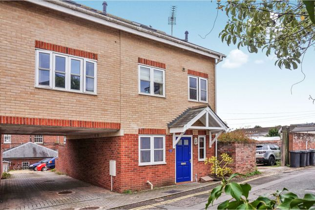 Thumbnail End terrace house for sale in Lucky Lane, Exeter