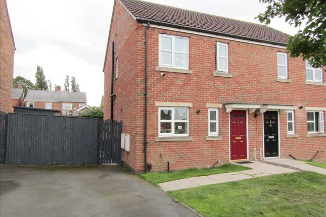 Thumbnail Semi-detached house for sale in Temple Road, Scunthorpe