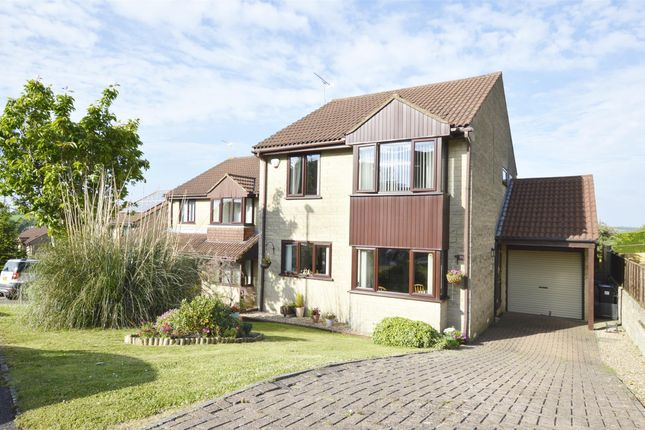 Thumbnail Detached house for sale in St. Marys Rise, Writhlington, Radstock, Somerset