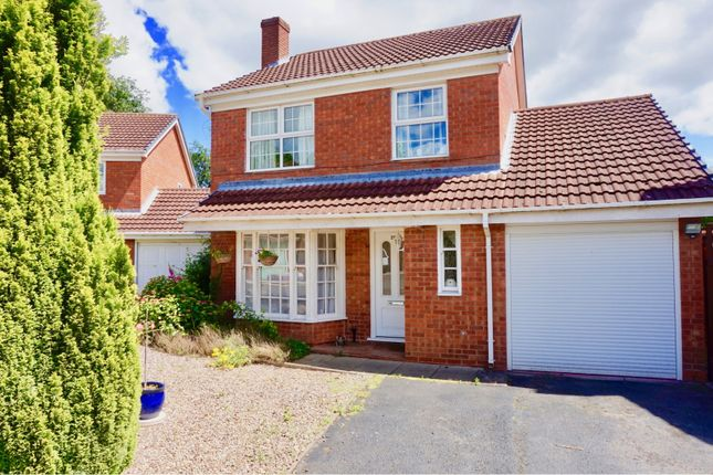 Thumbnail Detached house for sale in Hermitage Way, Telford