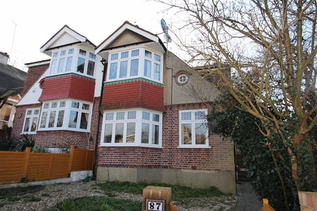 Thumbnail Semi-detached house for sale in Kings Head Hill, North Chingford, London
