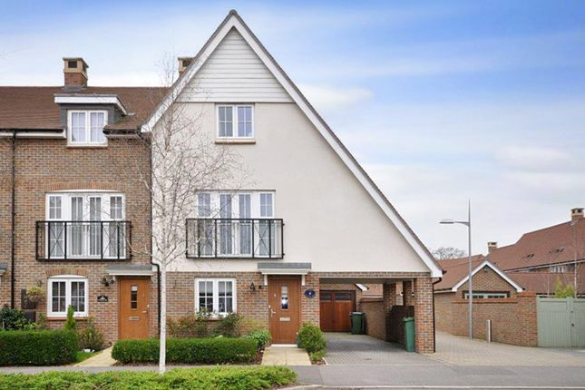 Thumbnail End terrace house for sale in Faygate, Horsham, West Sussex
