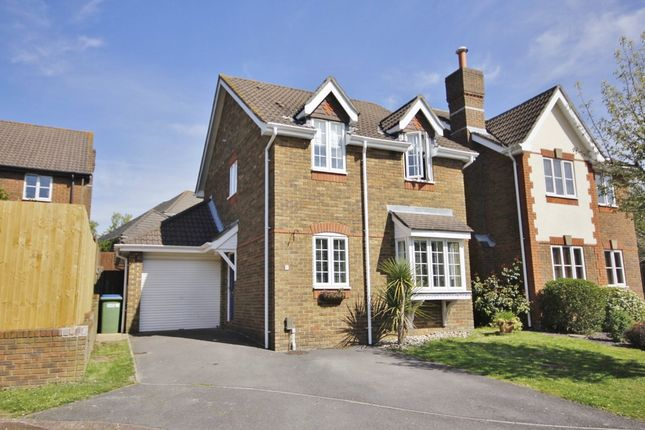 Thumbnail Detached house for sale in Querida Close, Lower Swanwick, Southampton