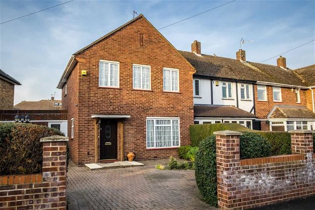 Thumbnail End terrace house for sale in Evelyns Close, Hillingdon, Middlesex
