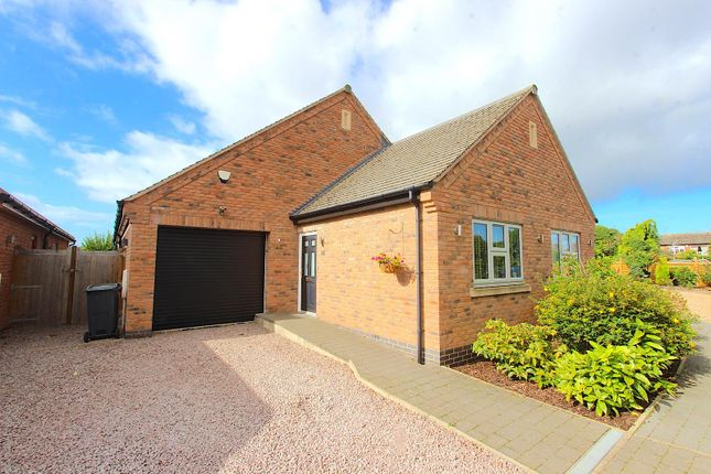 Thumbnail Detached bungalow for sale in Barkby Road, Queniborough, Leicester