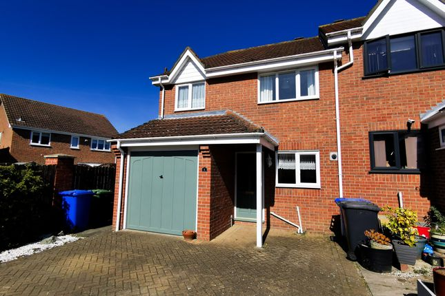 Thumbnail Semi-detached house to rent in St. Davids Close, Beccles