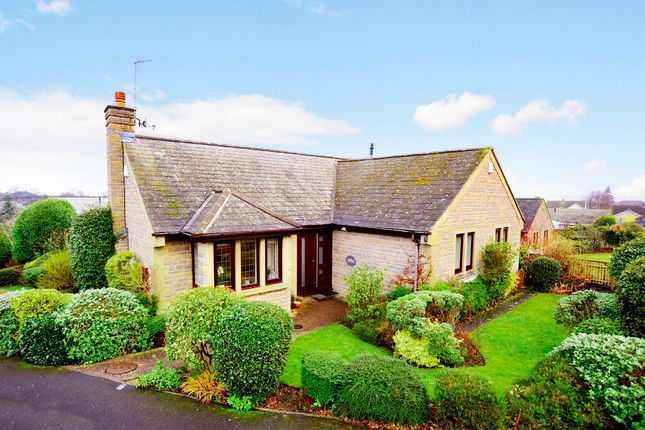 Thumbnail Detached bungalow for sale in Rossett Gardens, Harrogate
