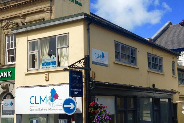Thumbnail Flat to rent in Fore Street, Redruth