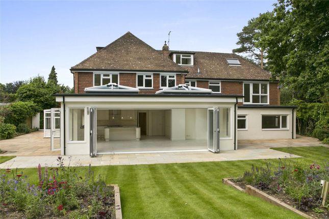 Thumbnail Detached house for sale in Miles Lane, Cobham, Surrey