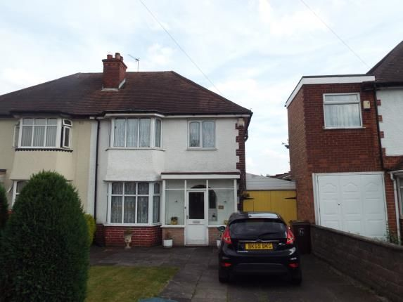 Thumbnail Semi-detached house for sale in Wagon Lane, Solihull