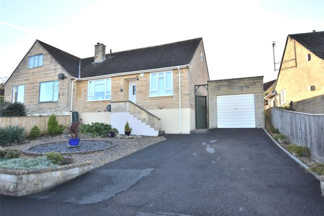 Thumbnail Semi-detached bungalow for sale in Holcombe Close, Bathampton, Bath, Somerset