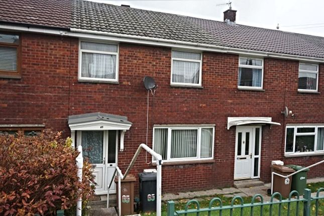 Thumbnail Terraced house for sale in Chartist Way, Blackwood