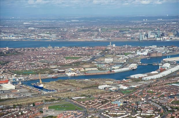 Thumbnail Land to let in East Float Storage Land, Dock Road, Birkenhead
