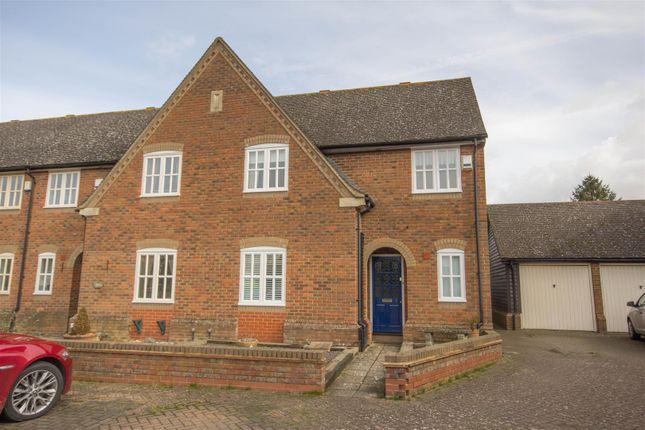 Thumbnail End terrace house for sale in Nashs Farm, Aston Abbotts, Aylesbury