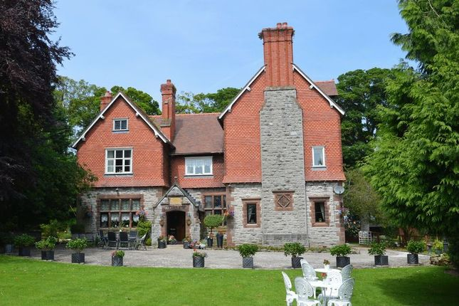 Thumbnail Detached house for sale in The Old Rectory, Pentre Road, Halkyn