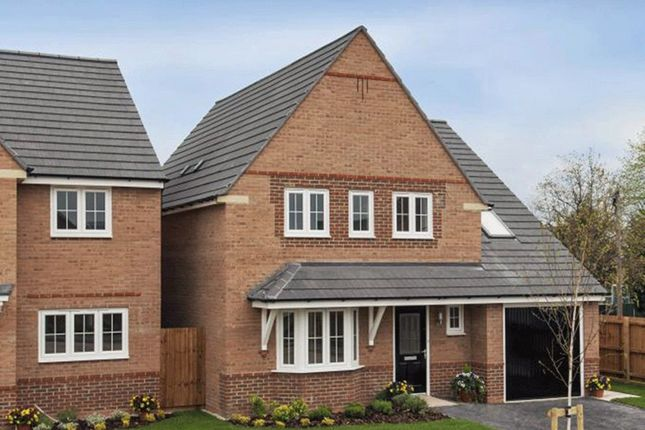 "Thumbnail Detached house for sale in ""Harborough"" at Arnold Drive, Corby"