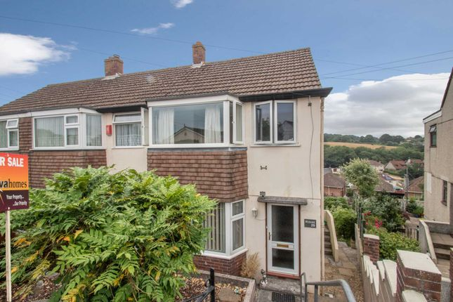 Thumbnail End terrace house for sale in Greenacres, Plymstock