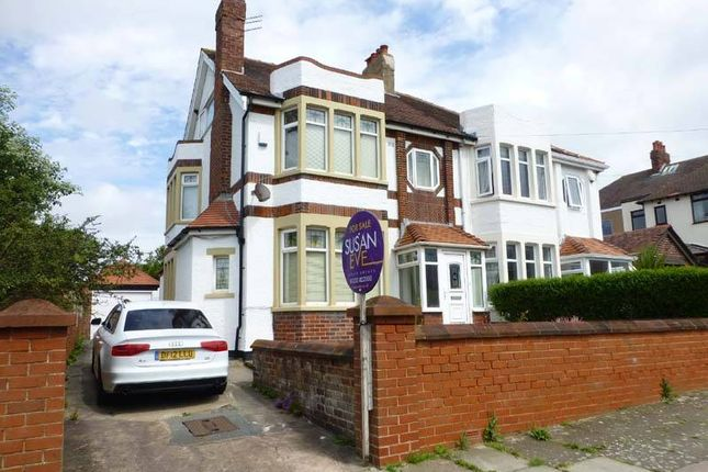 Thumbnail Semi-detached house for sale in Shaftesbury Avenue, Blackpool