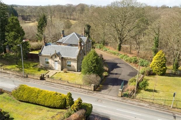 Thumbnail Detached house for sale in Allanton Road, Bonkle, Newmains, North Lanarkshire