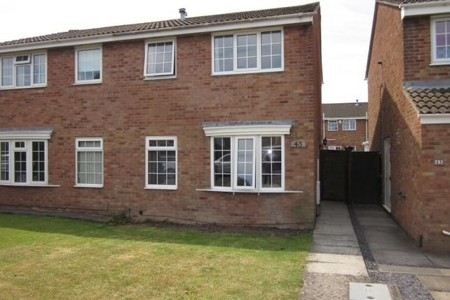 3 bed semi-detached house to rent in Fosseway, Clevedon
