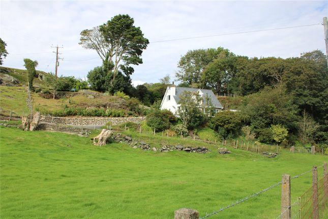 Thumbnail Bungalow for sale in Borth Road, Porthmadog, Gwynedd