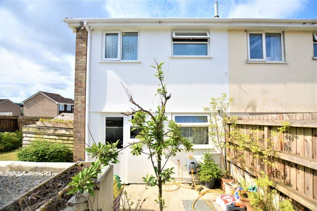 Thumbnail Semi-detached house for sale in Polwheal Road, Tolvaddon, Camborne