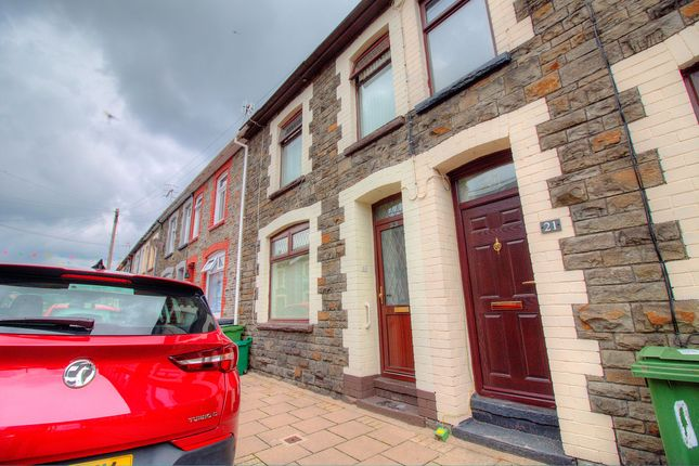 Front Elevation of Arnold Street, Mountain Ash CF45