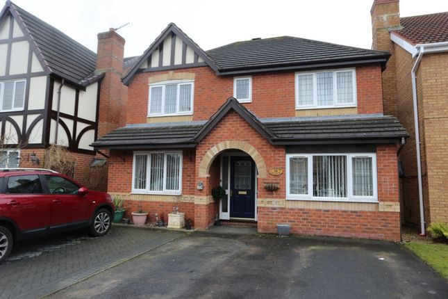 Thumbnail Detached house for sale in Hampshire Crescent, Lightwood