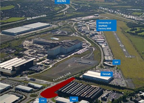 Thumbnail Land for sale in Zone 6, Sheffield Business Park, Junction 33&34 M1, Sheffield