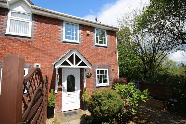 Thumbnail End terrace house for sale in Pant Gwyn Close, Henllys, Cwmbran