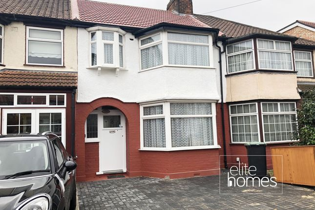 Thumbnail Terraced house to rent in Galliard Road, London