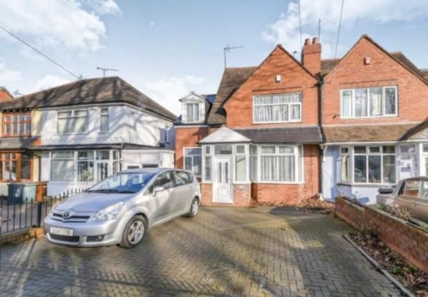 Thumbnail Semi-detached house for sale in Walstead Road, Walsall, West Midlands