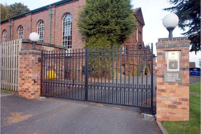 Gated Entrance of Lichfield Road, Hopwas B78