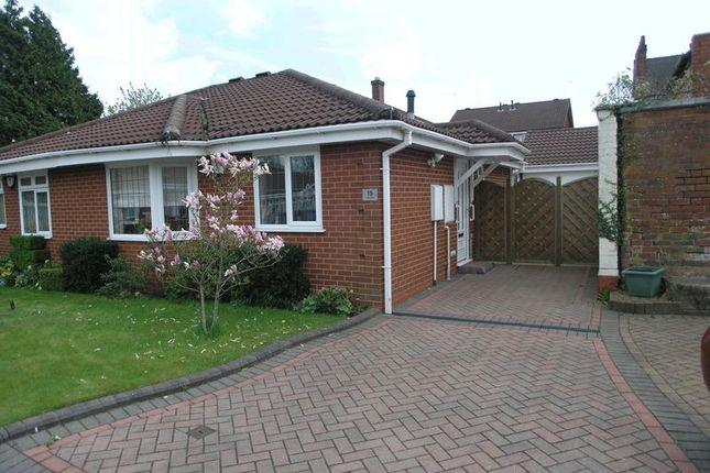 Thumbnail Semi-detached bungalow for sale in Regis Gardens, Rowley Regis