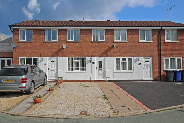 Thumbnail Town house to rent in Birches Close, Stretton, Burton-On-Trent