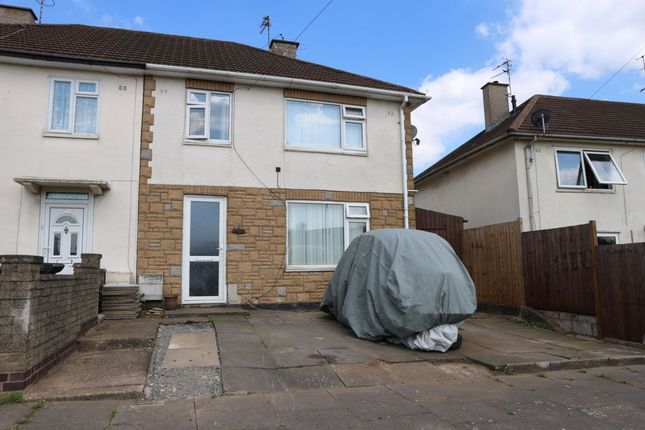 Thumbnail Semi-detached house for sale in Liberty Road, Braunstone Frith